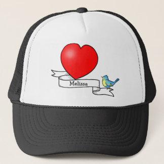 入れ墨のハートの子供への帽子 キャップ