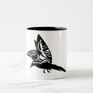 入れ墨のプリント ツートーンマグカップ