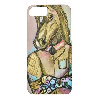 入れ墨の紳士の馬 iPhone 8/7ケース