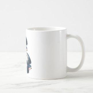 入れ墨はマグを飲み込みます コーヒーマグカップ
