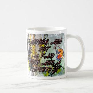 入れ墨はライフスタイルのコーヒー・マグです コーヒーマグカップ