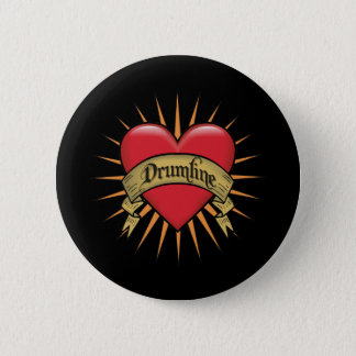 入れ墨はDrumlineを聞きます 缶バッジ