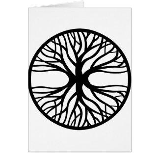 入れ墨生命の樹 カード