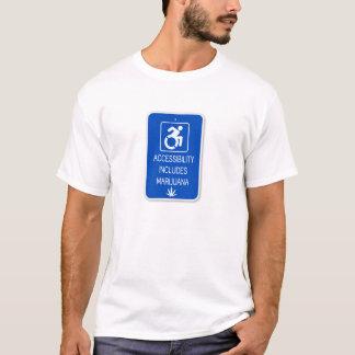 入手の可能性は雑草を含んでいます Tシャツ