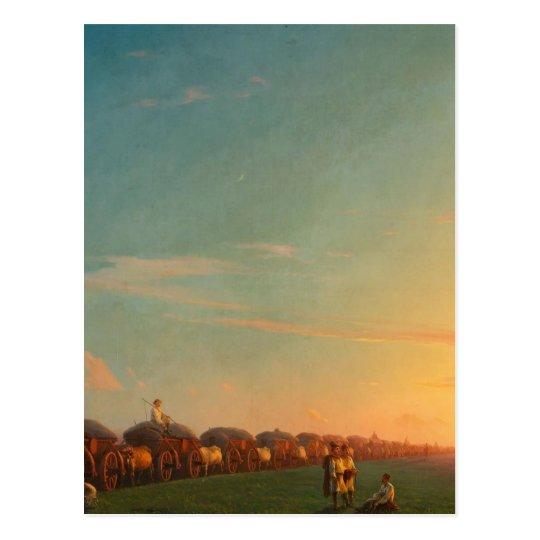 入植者との広範な風景 ポストカード