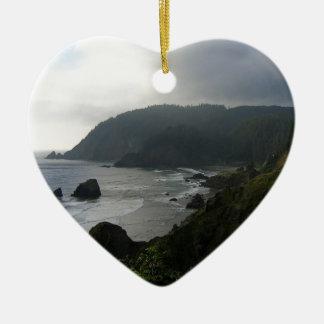 入江湾の水崖 セラミックオーナメント