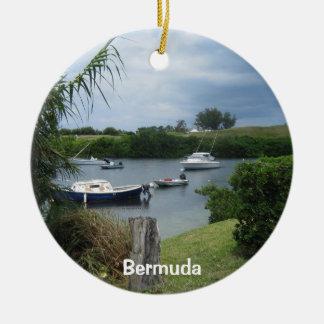 入江#1、バミューダ島 セラミックオーナメント