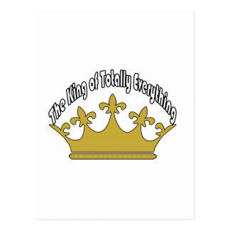 全くすべての王 ポストカード