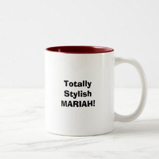 全くスタイリッシュなMARIAH! ツートーンマグカップ