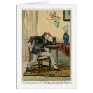 全くチャーミングなひとときを望みます、ビクトリア時代の人CH カード
