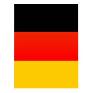 全くドイツの旗 ポストカード