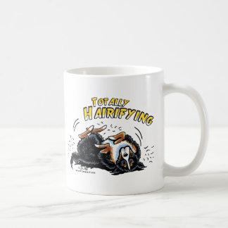 全くバーニーズ・マウンテン・ドッグHairifying コーヒーマグカップ