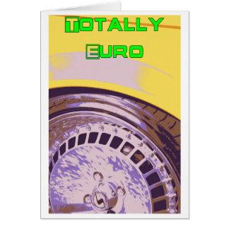 全くヨーロッパ カード