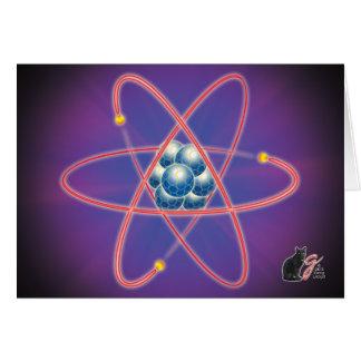 全く原子挨拶状 カード