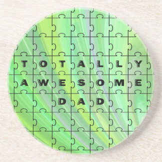 全く素晴らしいパパの緑のコースター コースター