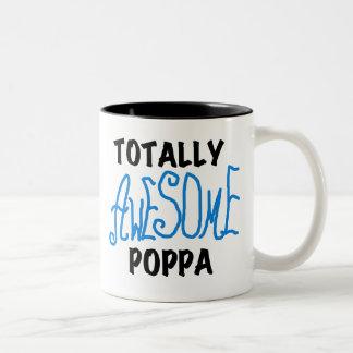 全く素晴らしいPoppaのTシャツおよびギフト ツートーンマグカップ