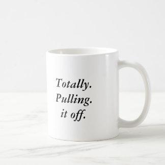 全く。 引き。 それ コーヒーマグカップ