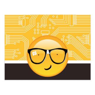 全くEmoji Techie ID229 ポストカード