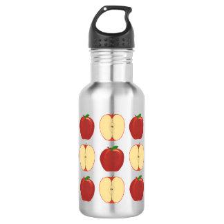 全のおよびスライスされたりんごの水差し ウォーターボトル