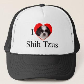 全体の家族のためのシーズー(犬)のTzuの恋人の服装 キャップ