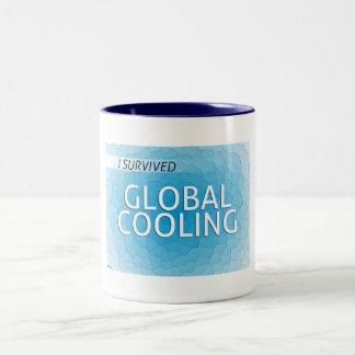 全体的な冷却 ツートーンマグカップ