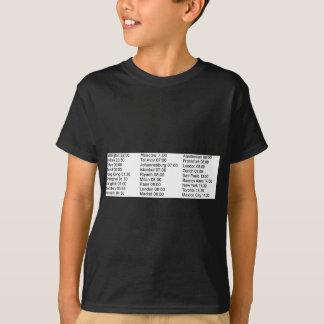 全体的な株式市場の開始時刻 Tシャツ