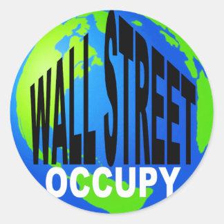 全体的なOccupy wall street ラウンドシール