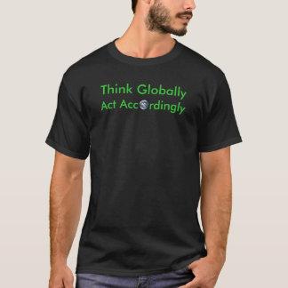 全体的に考えて下さい Tシャツ