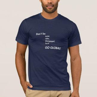 全体的にTシャツは行きます Tシャツ