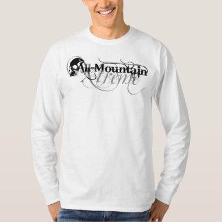 全山のXtremeの灰色 Tシャツ