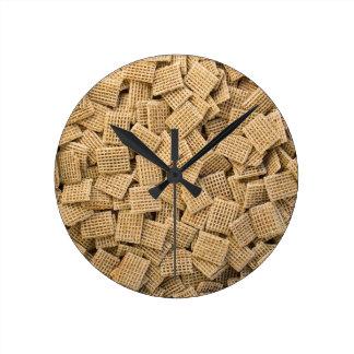 全穀物の穀物 ラウンド壁時計