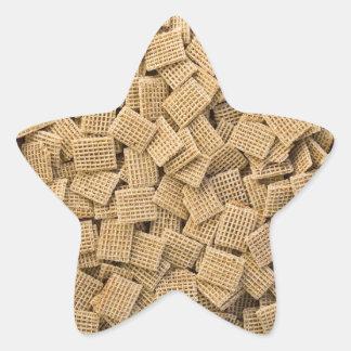 全穀物の穀物 星シール