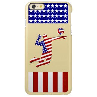全米のバレーボール選手 INCIPIO FEATHER SHINE iPhone 6 PLUSケース
