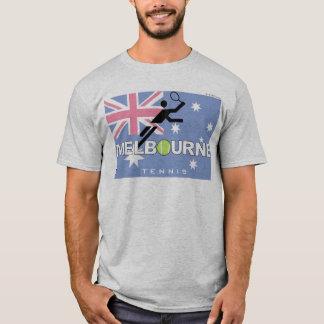 全豪オープンのテニスのメルボルンのヴィンテージのTシャツ Tシャツ
