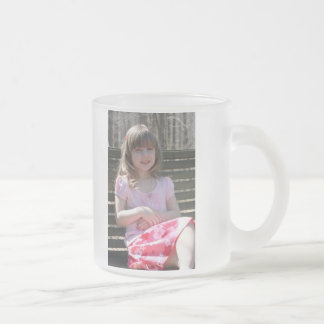 公園のベンチ10oz。 曇らされたガラスのマグ フロストグラスマグカップ