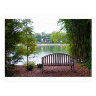 公園のベンチ2 ポストカード