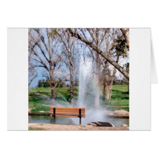 公園のベンチ カード