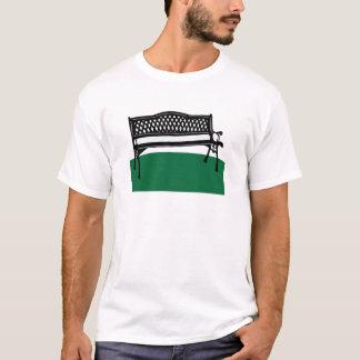 公園のベンチ Tシャツ