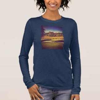 公園のワイシャツ 長袖Tシャツ
