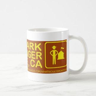 公園の抱擁をレーンジャーのサンノゼの物救って下さい コーヒーマグカップ