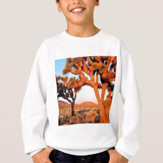 公園の日の出のジョシュアツリー記念碑カリフォルニア スウェットシャツ