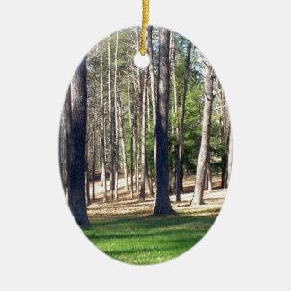 公園の木 セラミックオーナメント