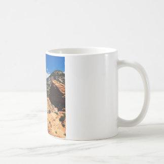 公園の渦巻く砂岩形成Zionユタ コーヒーマグカップ
