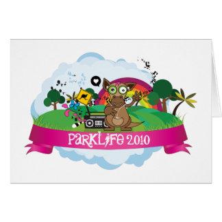 公園の生命2010年 カード