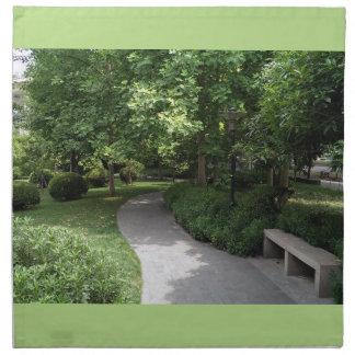 公園の通路 ナプキンクロス