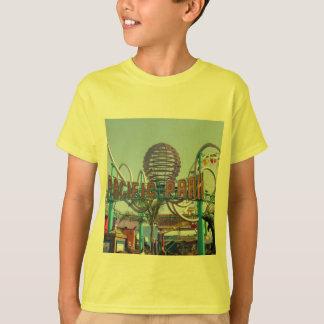 公園の@サンタモニカ太平洋桟橋 Tシャツ