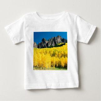 公園のUncompahgreのピーク《植物》アスペンコロラド州 ベビーTシャツ
