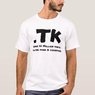 公園及び計算への10,000,000の訪問上の.TK、… Tシャツ