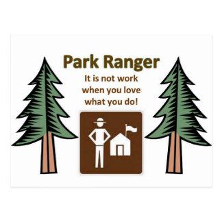 公園管理者 ポストカード
