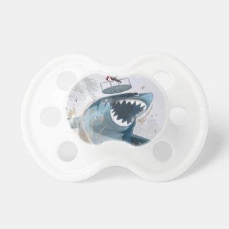 公園(オリジナルのアートワーク)の鮫 おしゃぶり